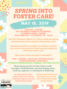 Spring into Foster Care!